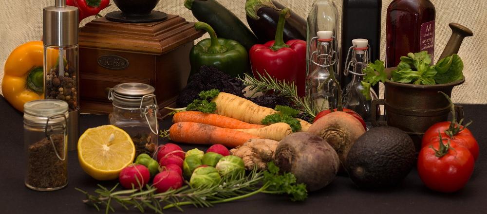 スパイスと野菜